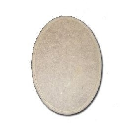 Mdf Medium Oval 20x15 cm