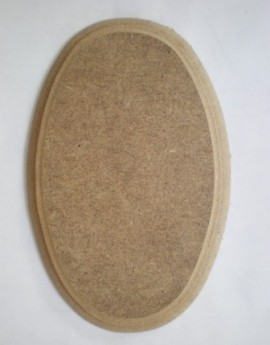 Mdf Small Oval 15x10cm
