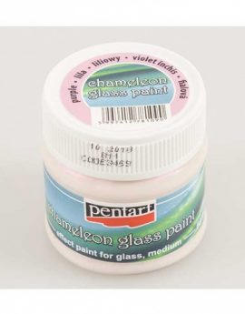Pentart-Chameleon-Effect-Paint-For-Glass-Purple