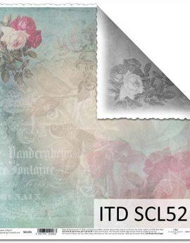 Χαρτιά Scrabooking ITD collection