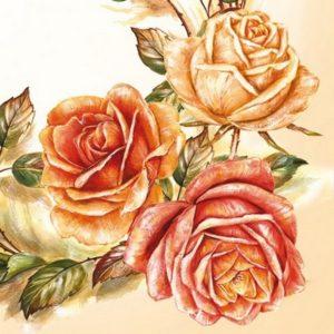 Χαρτοπετσέτες λουλούδια-φρούτα-βότανα