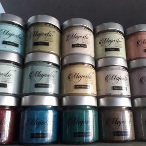 Χρώματα κιμωλίας - Πατίνες Majestic